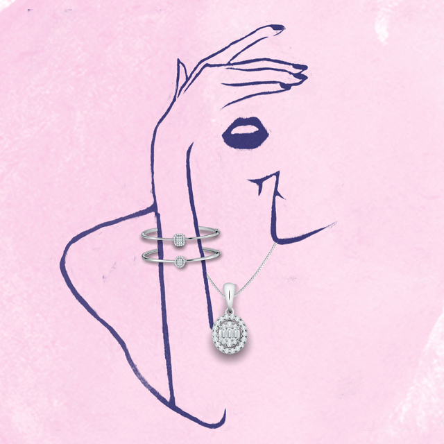 Perhiasan Berlian Eclat dari Miss Mondial yang Cocok untuk Seserahan Pernikahan (31046)