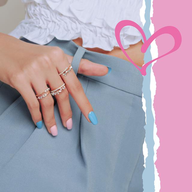 Perhiasan Berlian Eclat dari Miss Mondial yang Cocok untuk Seserahan Pernikahan (31048)
