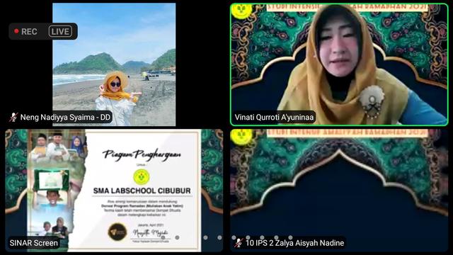 "Salurkan ""Uang Jajan"", SMA Labschool Cibubur Kolaborasi Bersama Dompet Dhuafa  (449244)"