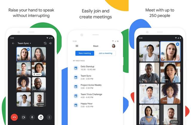 Cara Blur Background Video Call di Google Meet Android (10370)