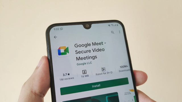 Cara Blur Background Video Call di Google Meet Android (10369)