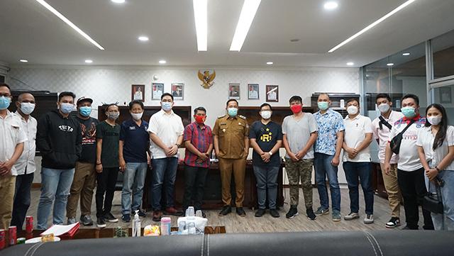 Satgas COVID-19 Manado Beri Rekomendasi Pelaksanaan Event Basket Wali Kota Cup (33273)