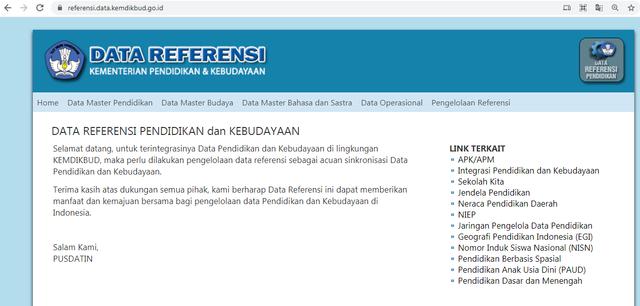 Cara Cek NPSN Secara Resmi di Situs Kemdikbud (270914)