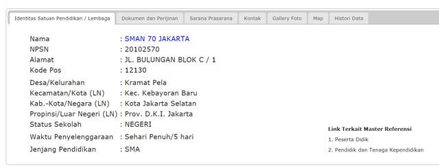 Cara Cek NPSN Secara Resmi di Situs Kemdikbud (270918)