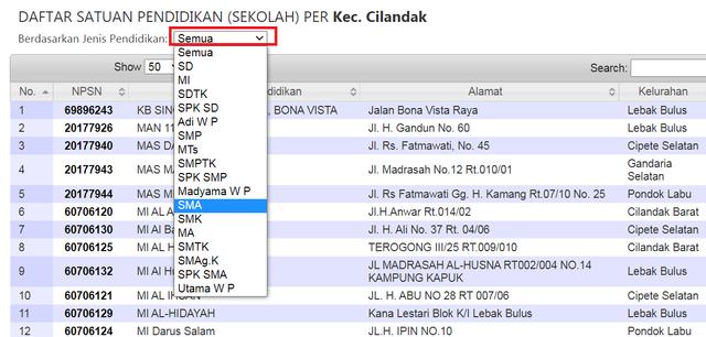 Cara Cek NPSN Secara Resmi di Situs Kemdikbud (270923)