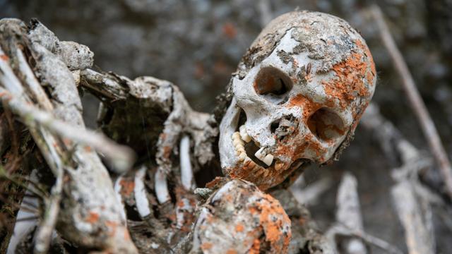 Mengasapi Jenazah, Ritual Pemakaman Ekstrem Suku Anga di Papua Nugini (4367)