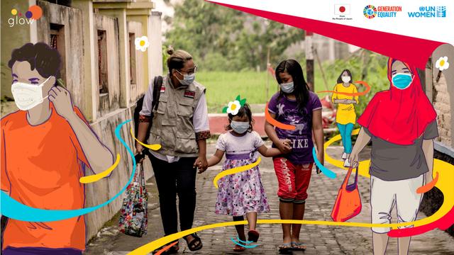 Kisah Liza Yuvita Sikku, Jadi Satgas COVID-19 untuk Desa Damai di Jawa Tengah (432587)