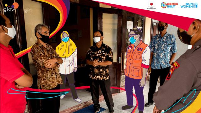 Kisah Liza Yuvita Sikku, Jadi Satgas COVID-19 untuk Desa Damai di Jawa Tengah (432588)