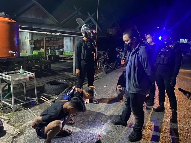 Tabrak Polisi saat Patroli, 2 Remaja di Kalteng Diamankan dalam Kondisi Mabuk (55448)