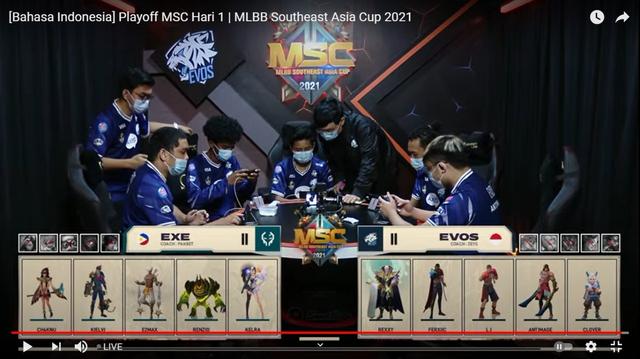 Hasil MSC Mobile Legends: Sempat Tertinggal, Evos Menang 2-1! (331875)