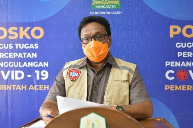 Kasus Positif Corona Harian di Aceh Melonjak, Capai 284 Pasien dalam 24 Jam (279061)