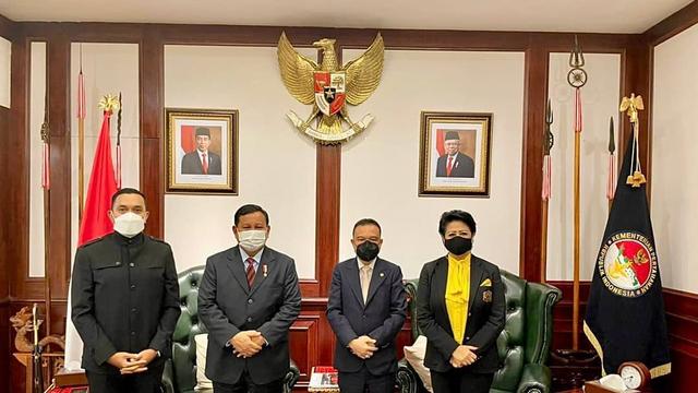Connie Bakrie Temui Prabowo, Sepakat Perkuat Pertahanan RI (331560)