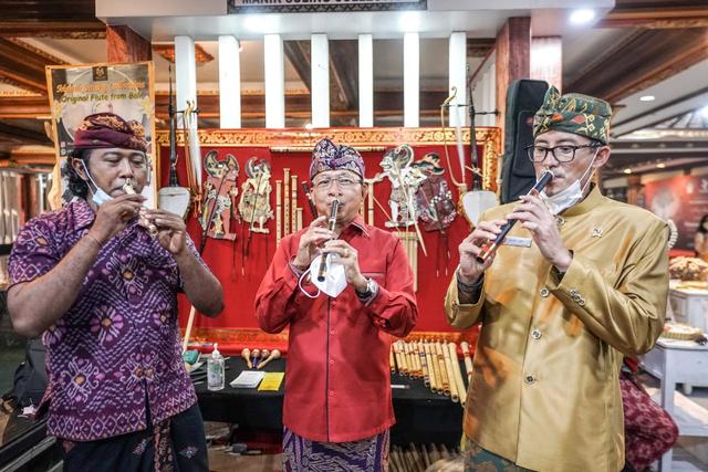 Pesta Kesenian Bali 2021 Resmi Dibuka, Sandiaga: Awal Kepulihan Pariwisata Bali (322231)