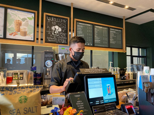 Starbucks Hadirkan Cabang ke-3 di Bandar Lampung, Berlokasi di Jalan Antasari (8)