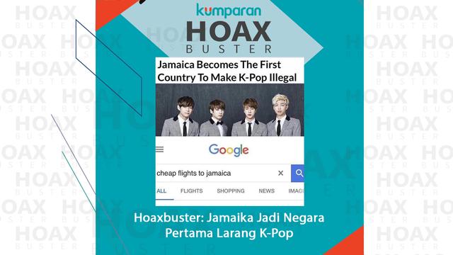 Hoaxbuster: Jamaika Jadi Negara Pertama Larang K-Pop (29415)