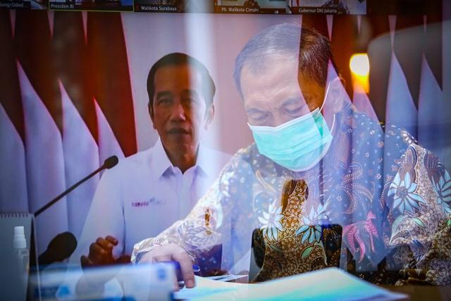 Wali Kota Bandung Ikut Rakortas, Ini Arahan Presiden (338343)