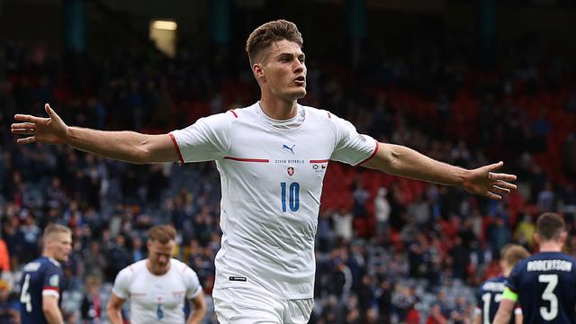 Gol Jarak Jauh Patrik Schick ke Gawang Skotlandia Jadi yang Terbaik di Euro 2020 (1240462)