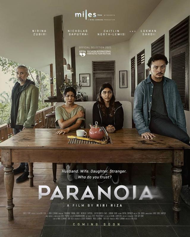 Paranoia, Film Thriller Pertama Miles Films Tayang Perdana di BIFAN (4115)