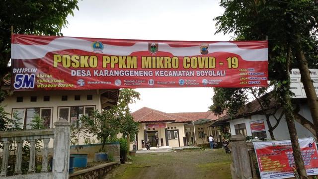 Kisah Desa Percontohan Penanganan Corona di Boyolali Berjibaku Lawan Pandemi   (29760)