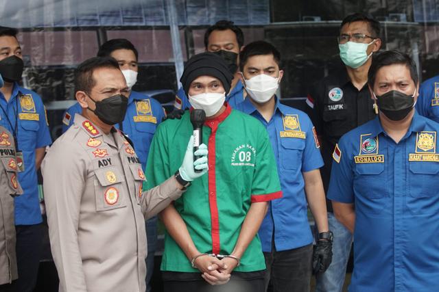 Didakwa Dua Pasal, Anji Jalani Sidang Tanpa Didampingi Kuasa Hukum (636595)