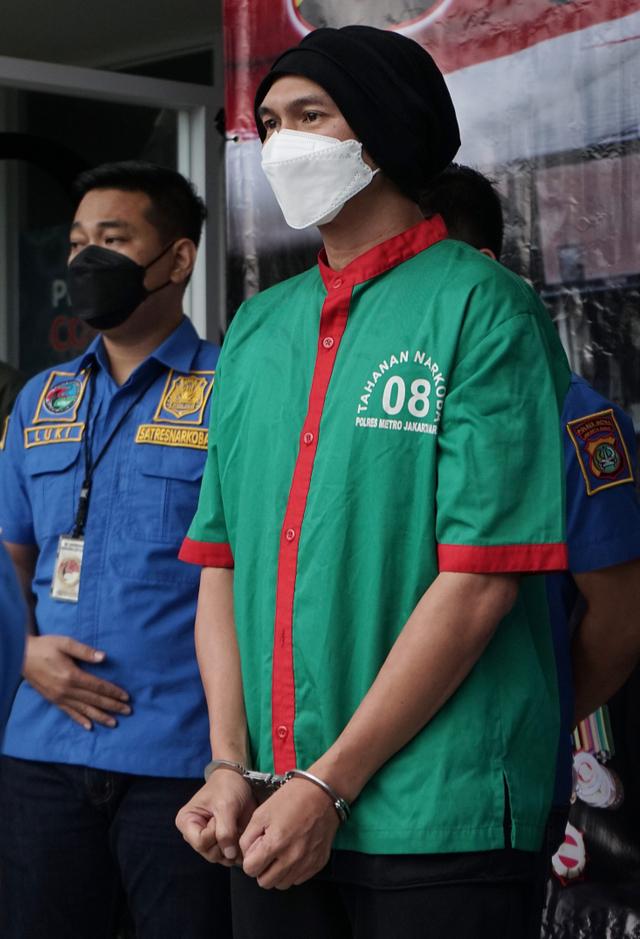 Didakwa Dua Pasal, Anji Jalani Sidang Tanpa Didampingi Kuasa Hukum (636593)