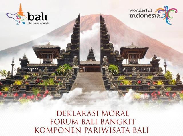 Dukung 'Bali Open Border', Komponen Pariwisata Doa Bersama di Pura Besakih (40140)