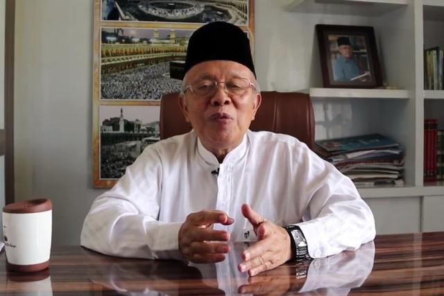 Ketua MUI Kota Bandung, Kiai Miftah Faridl, Positif COVID-19 (50511)