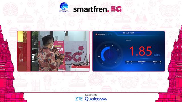 Smartfren Uji Coba 5G, Download Speed Tembus hingga 1,85 Gbps (113240)