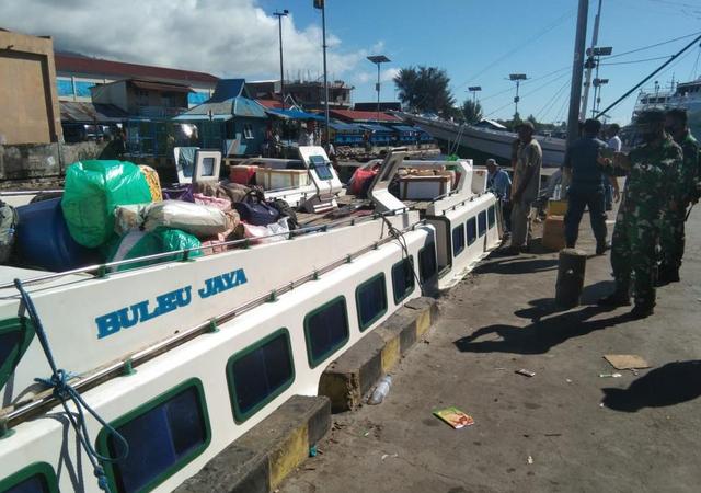 Lanal Ternate dan KSOP Tahan 1 Speedboat karena Langgar Aturan