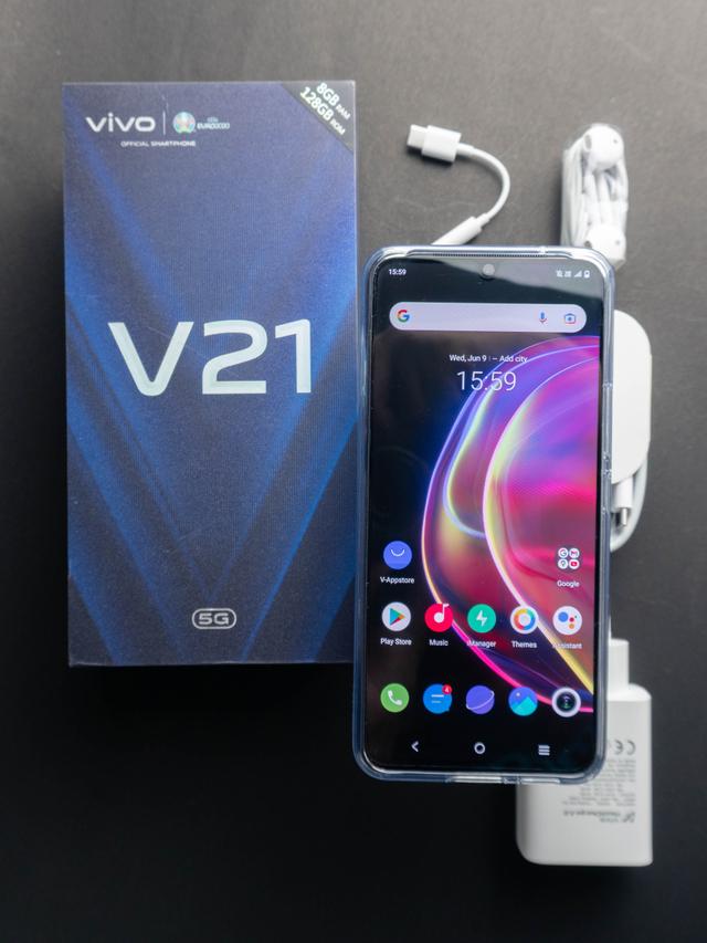 Review Vivo V21 5G: HP Tipis Tak Hanya Jago di Kamera (568681)