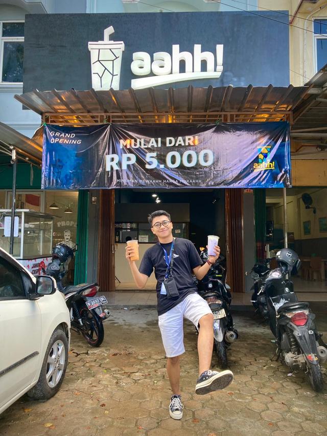 Aahh!: Minuman Favorit Warga Metro, Kini Ada di Bandar Lampung, Mulai Rp 5 Ribu (2)