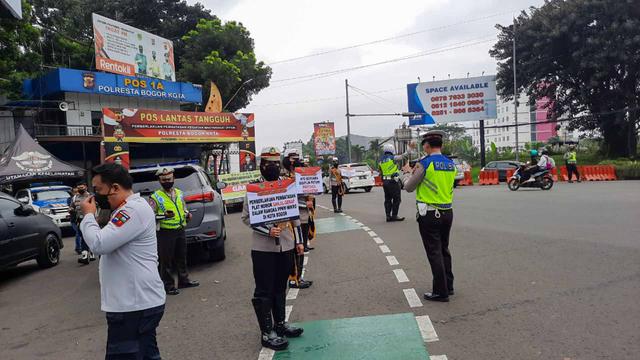 Ganjil Genap di Bogor Kembali Diberlakukan, Gerbang Tol Baranangsiang Ditutup (17270)
