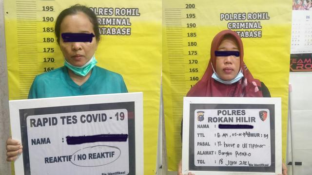 Polisi OTT 2 PNS Rokan Hilir Terlibat Pungli Pencairan Dana BLT UMKM (6283)