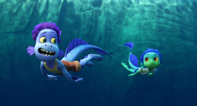 Luca Film Review : Summer Cinema Tour in Italy from Pixar (1)