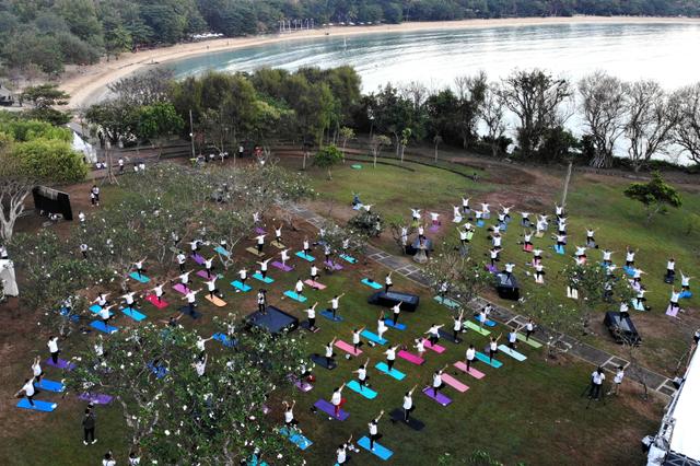 Pulau di Nusa Dua Ini Dikembangkan Menjadi Pulau Yoga (213444)