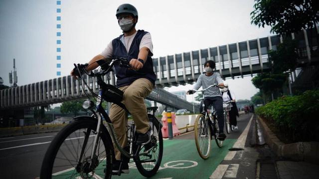 Anies Bicara Tujuan Utama Jalur Sepeda Dibangun: Untuk Transportasi, Bukan Sport (48832)
