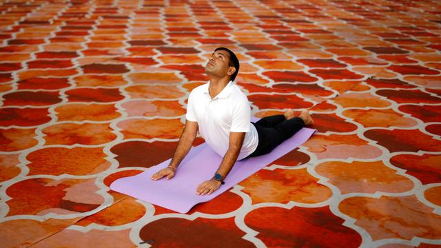 Foto: Perayaan Hari Yoga Internasional 2021 di India (97511)