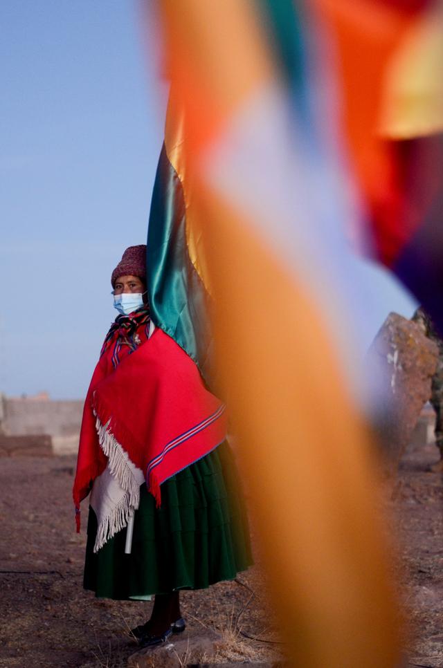 Foto: Ritual Adat Menyambut Tahun Baru Aymara di Bolivia (731974)