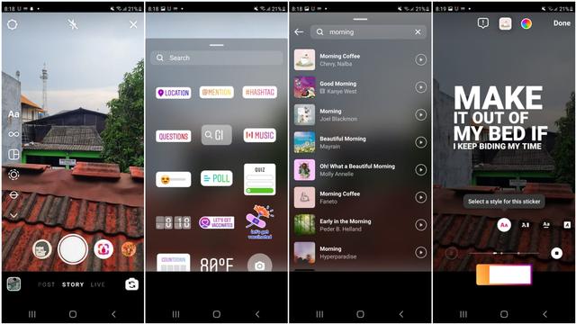 Cara Bikin Instagram Music di IG Stories, Sudah Bisa di Indonesia (1)
