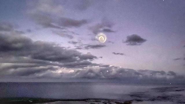 Spiral Misterius Mirip UFO Muncul di Langit Pasifik, dari Mana Asalnya? (579867)