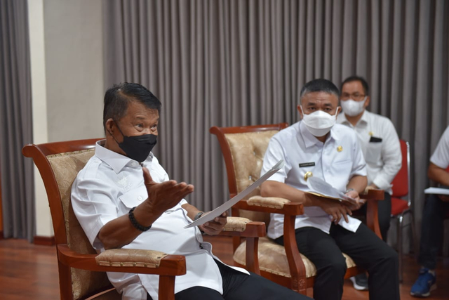Percepatan Rehab-Rekon, Gubernur Sulteng Siap Bantu Pemkot Palu Rp 22 Miliar (492641)