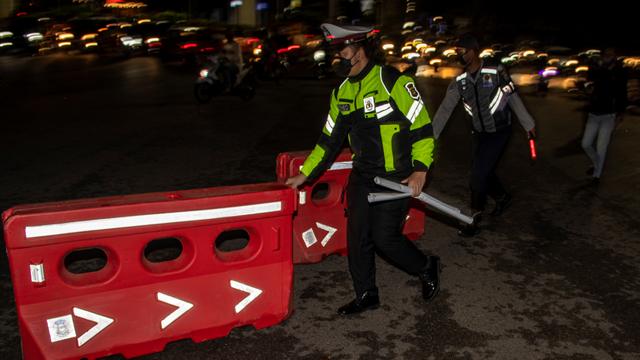 Foto: Pembatasan Mobilitas Warga di Palembang (575)