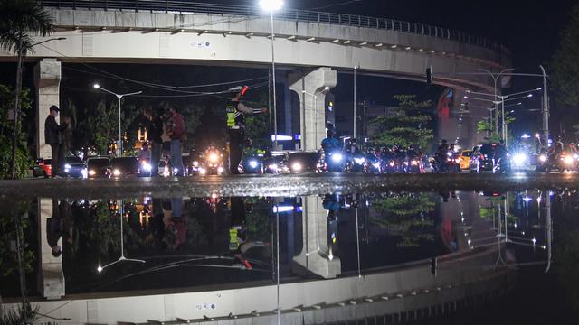 Foto: Pembatasan Mobilitas Warga di Palembang (576)