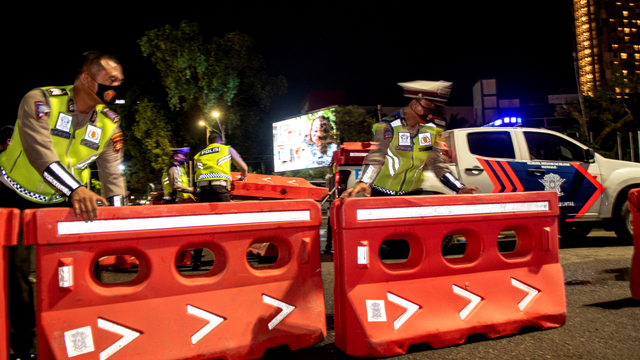 Foto: Pembatasan Mobilitas Warga di Palembang (572)