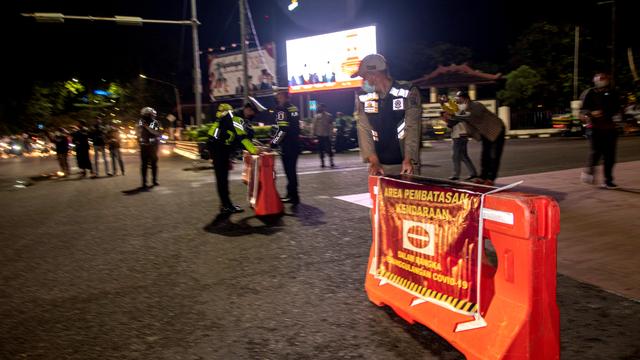 Foto: Pembatasan Mobilitas Warga di Palembang (573)