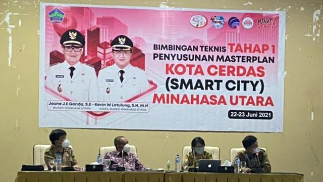 Kabupaten Minut Gandeng Kemenkominfo Susun Masterplan Smart City (27558)