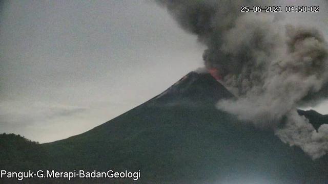 BPPTKG Perbarui Rekomendasi Daerah Bahaya Erupsi Gunung Merapi (10151)