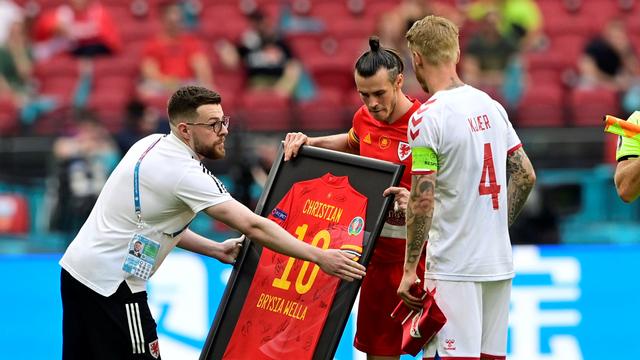 5 Momen Menarik Wales vs Denmark di Euro 2020: Gol Indah hingga Kartu Merah (712457)