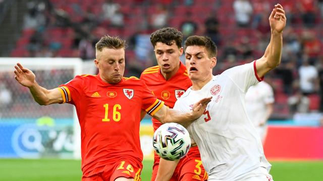 5 Momen Menarik Wales vs Denmark di Euro 2020: Gol Indah hingga Kartu Merah (712458)