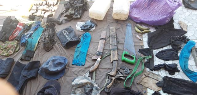 Lencana ISIS Ditemukan di Markas MIT Poso (115906)